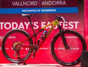 Nuova Specializec S-WORKS Epic 2018 con sistema Brain Specialized all'avantreno e al retrotreno